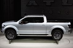 2014 Ford Atlas Concept   2014 / 2015 Best Cars Tailgate Step, 2014 Mustang, Best New Cars, Save Fuel, Detroit Auto Show, Cute Car Accessories, Ford F Series, Cute Cars, Chevrolet Silverado