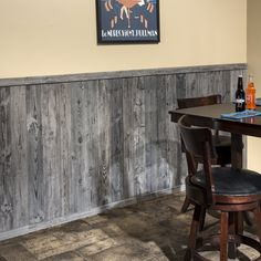RusticGrove x Reclaimed Solid Wood Wall Paneling Wood Paneling Makeover, Painting Wood Paneling, Painting Basement Walls, Paint Over Wood Paneling, Barnwood Paneling, Wood Paneling Decor, Paneling Ideas, Reclaimed Barn Wood, Old Wood
