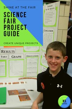 Design and create unique experiments for the science fair. This printable workbook will guide kids through the planning process and help them design their project display board. Science Fair Experiments, Science Fair Projects, Science Lessons, Kindergarten Science Activities, Science Resources, Science Classroom, Fourth Grade Science, Stem Classes, Next Generation Science Standards