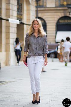 Haute Couture Fall 2014 Street Style: Jennifer Neyt » STYLE DU MONDE   Street Style Street Fashion Photos