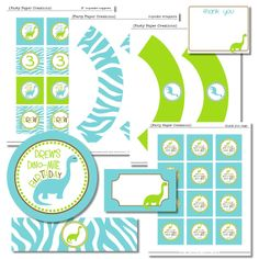 Roar A Dinosaur Party Party printables Celebrations and Free