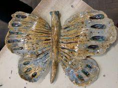 Motyl ceramiczny by KaNa design,  po wypale.