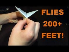 How to make a paper airplane [ paper airplanes ] or paper plane that flies. On this origami tutorial, I will show you step by step instructions of how to mak.