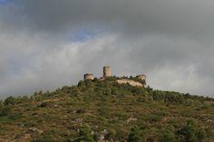 Castell de Saburella, Alt Gaià, Tarragona, Catalunya.