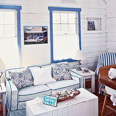 Coastal style living decor | Fabiana te contesta: Muebles playeros | terra.com