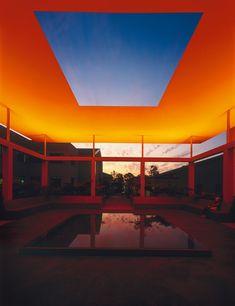 Dividing the Light, 2007 Pomona College Museum of Art Claremont, California, USA Latitude: 34.097619 Longitude: -117.7124122 Skyspaces Photo: Florian Holzherr