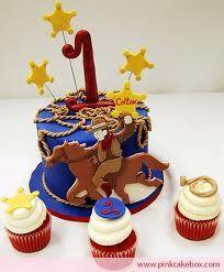 cowboy cake topper