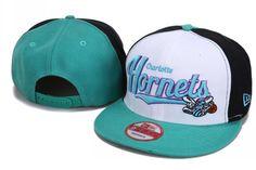 NEW ORLEANS HORNETS NEW ERA SNAPBACK HATS - WHITE 031 BLACK GREEN