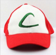 875e3f0609a New 2016 pokemon Ash Ketchum boy cap Adjustable Cosplay Hat Snapback  pokemon cartoon baby boy baseball cap hot sale Sun hat cute
