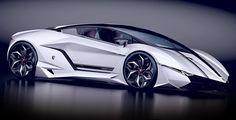 Lamborghini Resonare CONCEPT WHITE - great edged looking thing!