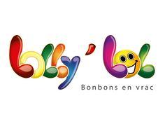 GrafikZone - dseconde proposition logo boutique de bonbons