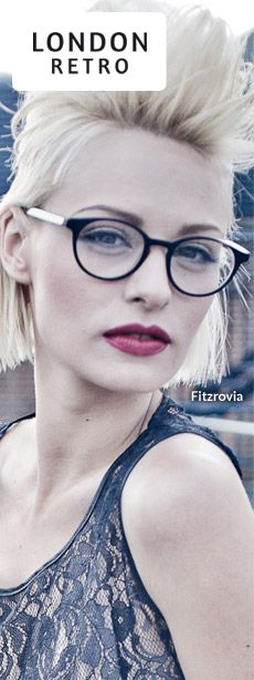 0a6152af64 London Retro glasses. ( I want cuter prescription glasses) Eyewear Trends