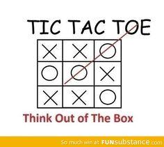 Ik kan echt 'out of the box' denken. En gave nieuwe ideeën bedenken.