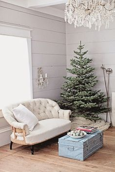 Christmas cottage decor