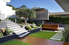 Caringbah contemporary garden in Sydney, Australia by Secret Gardens