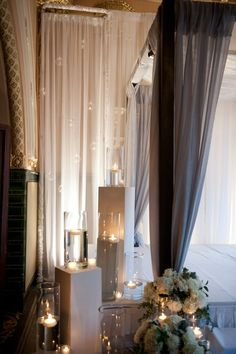Wedding ceremony ideas - Candle ceremony decor by Exclusive Events - Donnell Probst Photography - donnellprobst.com