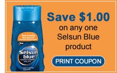 Selsun Blue coupons