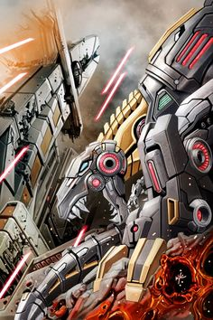 Transformers Prime : Rage of the Dinobots #2