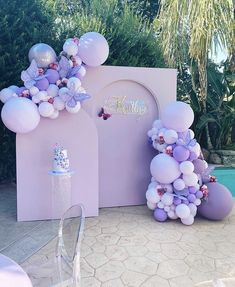 Butterfly Balloons, Butterfly Birthday Party, Butterfly Baby Shower, 18th Birthday Party, Baby Girl Birthday, Birthday Party Themes, Baby Girl Shower Themes, Girl Baby Shower Decorations, Deco Ballon