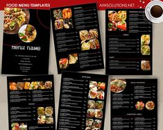 Restaurant Menu Template By Aiwsolutions On Creativemarket
