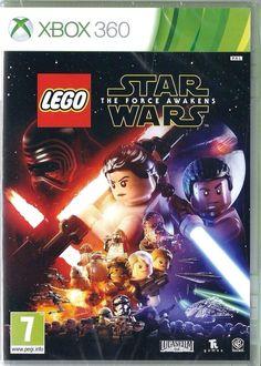 Lego Star Wars the Force Awakens Microsoft Xbox 360  NEW