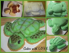 Turtle Cake...this is awesome....though I don't think I could actually eat it
