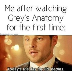 I remember the first time I watched it that was the same reaction I had