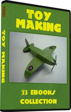 33 TOY Making Vintage Books, Tin Can Toys Model Aeroplanes & boats Electric Toys