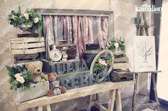 www.kamalion.com.mx - Decoración / Guestbook / Flores / Rosa / Pink / Rustic Decor / Madera / Lechero / Maletas / It's a girl / Vintage / Tree / Baby Shower / Huellas / reloj / clock / fingerprint.