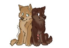 Actual puppies Isaac and Scott by FourDirtyPaws on deviantART