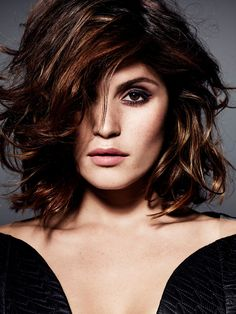 Gemma Arterton looks effortlessly sultry in dramatic make-up