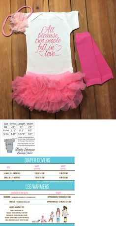 One-Pieces 163425: All Because Two People Fell In Love Baby Girl Tutu One Piece Shirt Outfit Set -> BUY IT NOW ONLY: $33.99 on eBay!