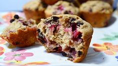 Craving a banana split for breakfast? Try this gluten-free recipe that delivers the banana split taste you know and love in the form of a muffin!