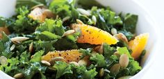 Ok how yummy is this. going to have this for lunch tomorrow! Kale Lemon Salad. mmmmmm, alive.com