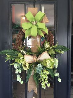 Grapevine Spring Summer Wreath by WreathsbyLaura on Etsy