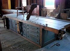 THE workbench at Shaker Village