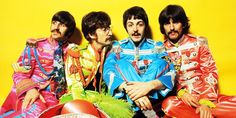 The Beatles, rock band that included John Lennon, Paul McCartney, George Harrison and Ringo Starr. Ringo Starr, Paul Mccartney, George Harrison, Cultura Pop, Pop Rock, Rock N Roll, Great Bands, Cool Bands, The Beatles