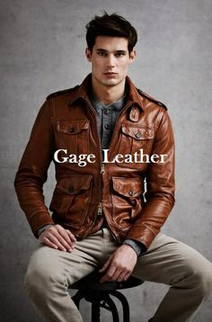 Jaket Kulit Asli Domba Kode Gage 01 Untuk Pemesanan Silahkan Hubungi www.gageleather.com #leatherjacket