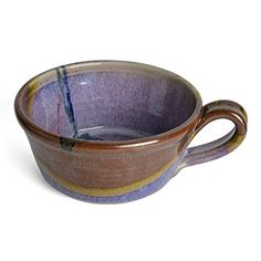 Larrabee Ceramics Handled Soup Bowl