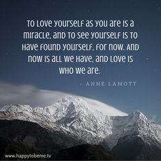 To love yourself as you are is the key that unlocks success and happiness! #selflove #selfacceptance #selfesteem