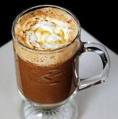 Salted Caramel Hot Chocolate #drink