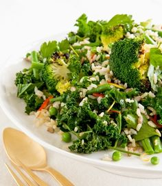 Greens and Grain Salad recipe