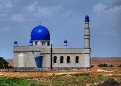 Wow, beautiful mosque in Kyrgyzstan