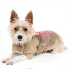 Boiled Wool Dog Coat