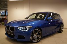 Estoril Blue M Sport with M Performance Parts Bmw 116i, Bmw Classic Cars, Bmw 1 Series, Top Cars, Audi Tt, Small Cars, Performance Parts, Transportation Design, Ford Gt