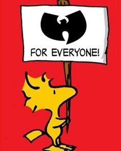 Wu Tang Clan for Everyone - Peanuts gang @EnspiredVisions
