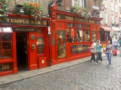 Temple Bar Dublin Muziek, muziek, muziek.