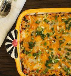 Chili Chicken Quinoa Bake | KitchenDaily.com