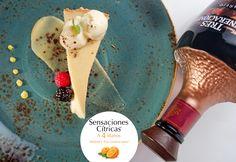Sensaciones Cítricas a 4 Manos • Los Chefs Alejandro Ruiz de Guzina Oaxaca + Azari Cuenca de Terré • Ate de Guayaba Modificado Armonizado con Tequila Tres Generaciones Reposado