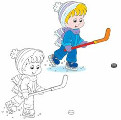 Cool Winter Coloring Pages